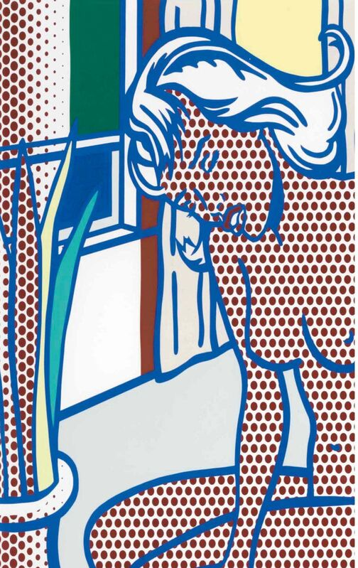 Roy Lichtenstein, 'Two Nudes, State I (Corlett 285)', 1994, Print, Relief print in colors on Rives BFK mold-made paper, Art Commerce