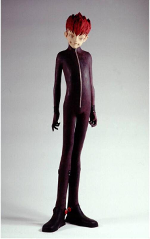 Hiroto Kitagawa, 'New Type 2003-dark blown', 2003, Sculpture, Terracotta, Acrylic paint, Aki Gallery