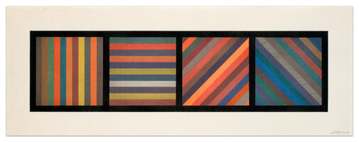 Sol LeWitt, 'Bands of Lines in Four Directions', 1993