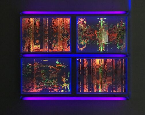 FIREFLOWERS 火花, installation view