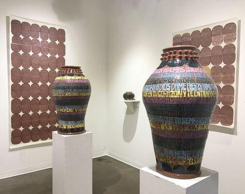Gabo Martini - FLOR MORENA, installation view