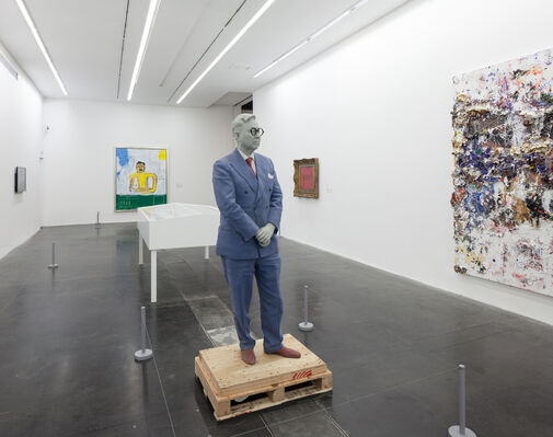 Michael Chow: Voice for My Father, installation view