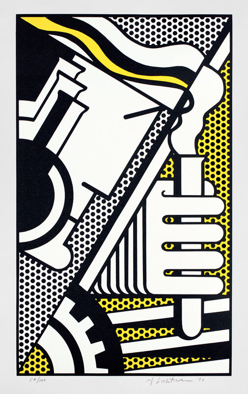 Roy Lichtenstein, 'Chem IA, from Peace Through Chemistry Series', 1970, Print, Screenprint in colors, on Arjomari paper, with full margins., Phillips