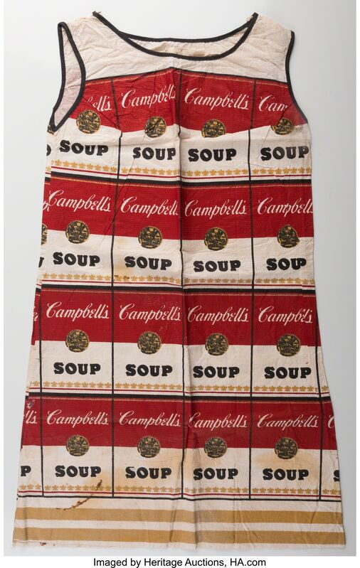 Andy Warhol, 'The Souper Dress (Limted Edition)', 1966-67, Print, Screenprint on cellulose, Heritage Auctions