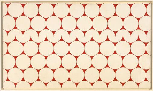 François Morellet, 'Cercles et demi-cercles [Circles and Semicircles]', 1952