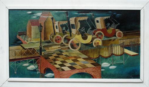 """Heinz Borchers, '"""" Die Fahrt in die Zukunft """"', 1963"""