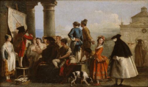 Giovanni Domenico Tiepolo, 'The Storyteller', 1773