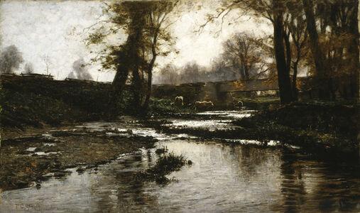 "Theodore Clement ""T.C."" Steele, 'Pleasant Run', 1885"