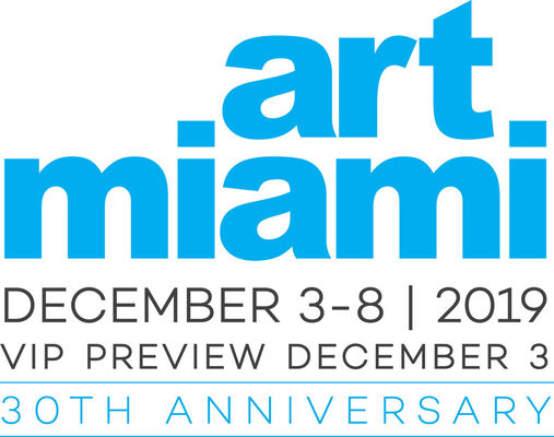 Maddox Gallery at Art Miami 2019, installation view