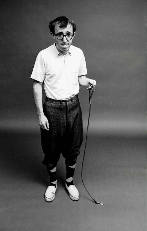 Steve Schapiro, 'Woody Allen. Ant on a Leash', 1962, Photography, Gelatin Silver Print, CAMERA WORK