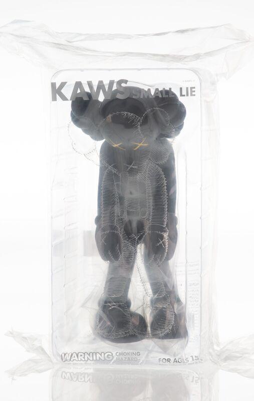 KAWS, 'Small Lie (Black)', 2017, Sculpture, Painted cast vinyl, Heritage Auctions