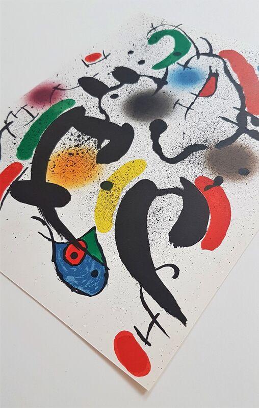Joan Miró, 'Litografia Original VI', 1975, Print, Color Lithograph, Cerbera Gallery