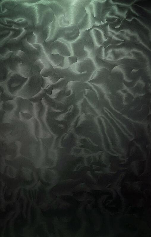 Julio Blancas, 'Untitled', 2010, Painting, Graphite on wood, Galería Artizar