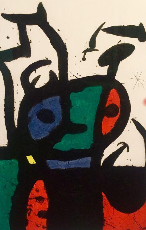 Joan Miró, 'Le Matador (D.150)', 1969, Print, Original Etching with aquatint & carborundum, Off The Wall Gallery