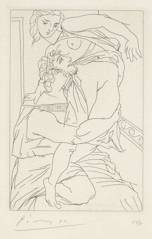 Pablo Picasso, 'Cinésias et Myrrhine, from Lysistrata', 1934, Print, Etching on wove paper, Christie's