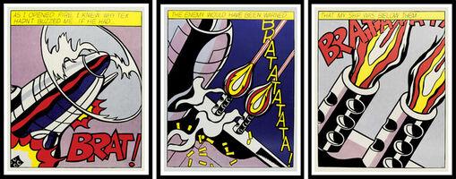 Roy Lichtenstein, 'As I Opened Fire', 1964
