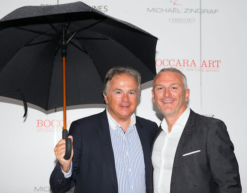 BOCCARA ART, Bentley Cannes and Michael Zingraf reception for cars-and-art lovers, installation view