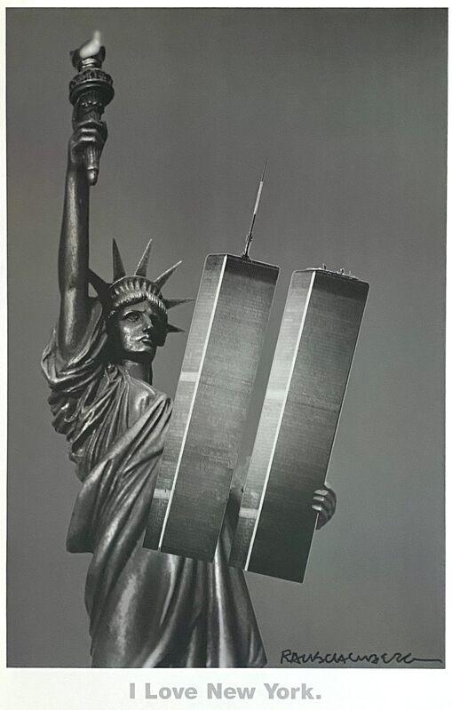 Robert Rauschenberg, 'I Love New York', 2001, Print, Ink jet print on paper, Woodward Gallery