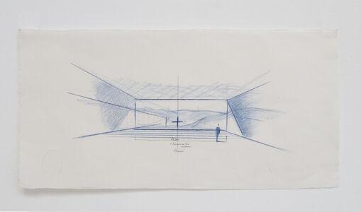Tadao Ando, 'Church of the Water, Interior Perspective, Tomamu, Japan', 2014