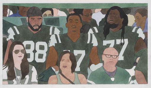 Kota Ezawa, 'National Anthem (New York Jets)', 2019