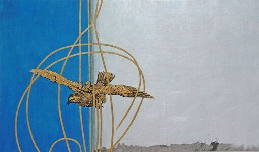 Tracy Silva Barbosa, 'Plight of the Goshawk an ode to the Azorean Flag', 2013