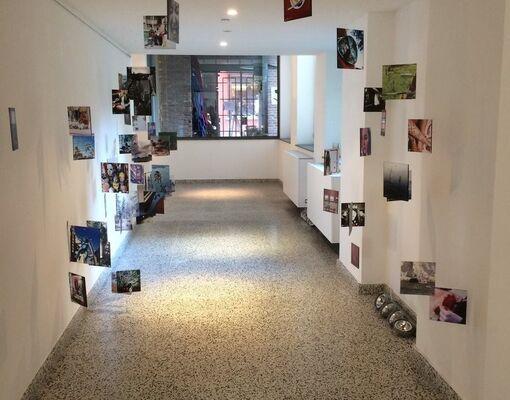 CODING AS A SOCIAL & CREATIVE INCEPTION, installation view