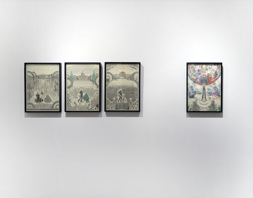 I'm Mark Wagner and I Approve This Message, installation view