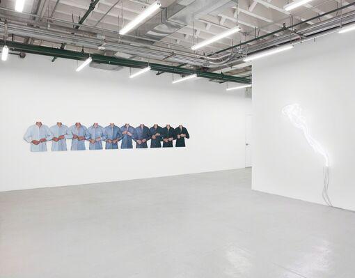 Fiete Stolte: Transit, installation view