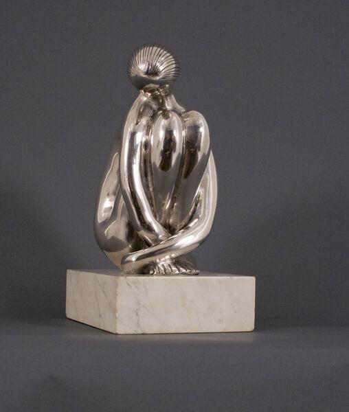 Hugo Robus, 'Meditating Girl', 1958