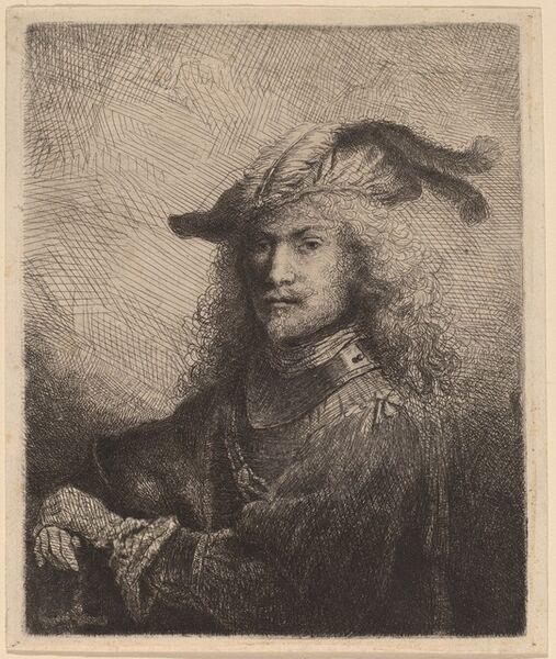 Ferdinand Bol, 'Portrait of an Officer', 1645