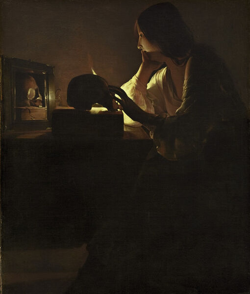 Georges de La Tour, 'The Repentant Magdalen', ca. 1635-40