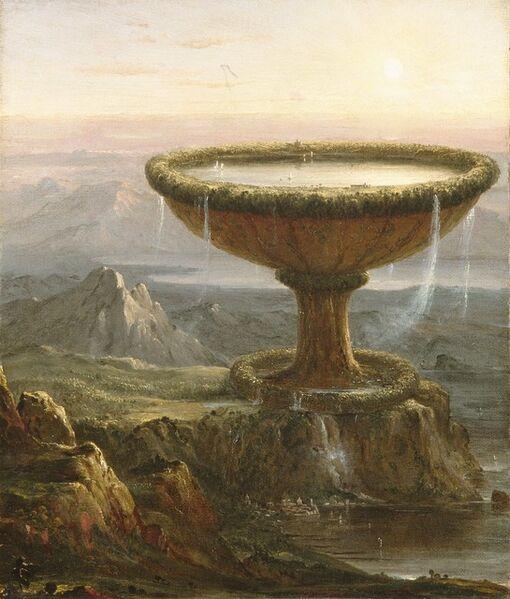 Thomas Cole, 'The Titan's Goblet', 1833