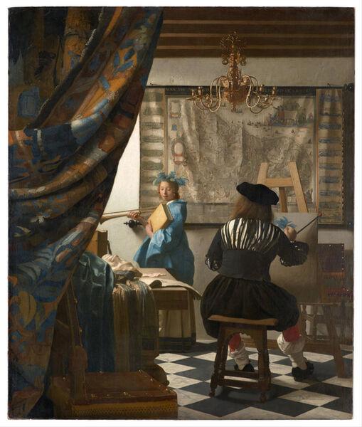 Johannes Vermeer, 'The Allegory of Painting', ca. 1666