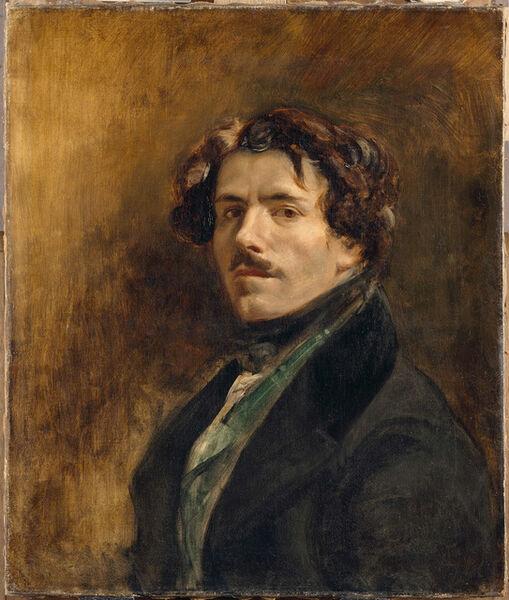 Eugène Delacroix, 'Self Portrait', 1837