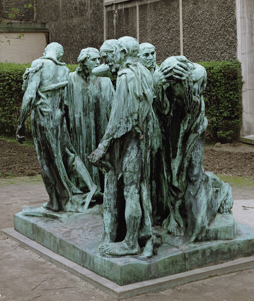 Auguste Rodin, 'The Burghers of Calais', 1886