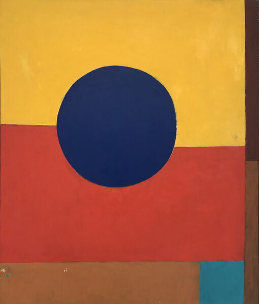 Louis Ribak, 'Blue Circle ', 1960-1969