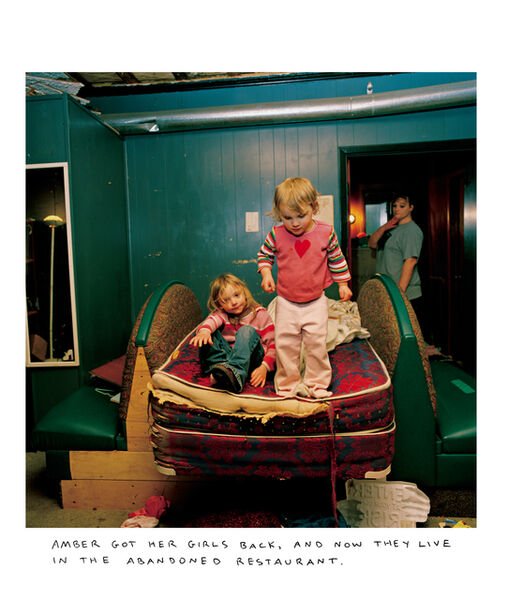 Chris Verene, 'AMBER GOTHER GIRLS BACK AND NOW THEY LIVE IN THE ABANDONED RESTAURANT', 2007