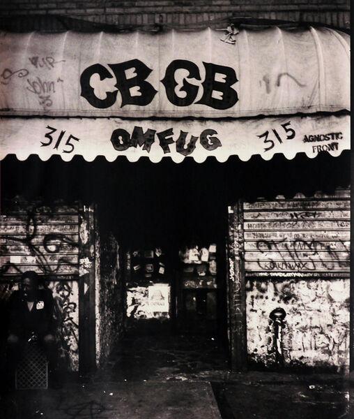 Fernando Natalici, 'CBGB photograph East Village (CBGB Bowery NYC)', 1982