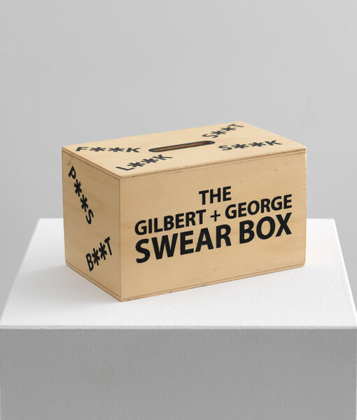 Gilbert and George, 'Swear Box', 2007