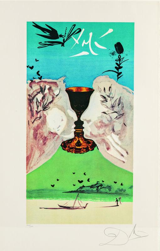 Salvador Dalí, 'Lyle Stuart Tarot Prints/A Suite of Six Prints', 1978, Print, Color photo-offset lithographs on paper, Skinner