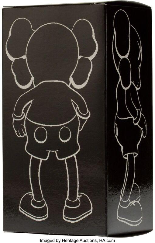 KAWS, 'Companion (Grey)', 1999, Sculpture, Painted cast vinyl, Heritage Auctions