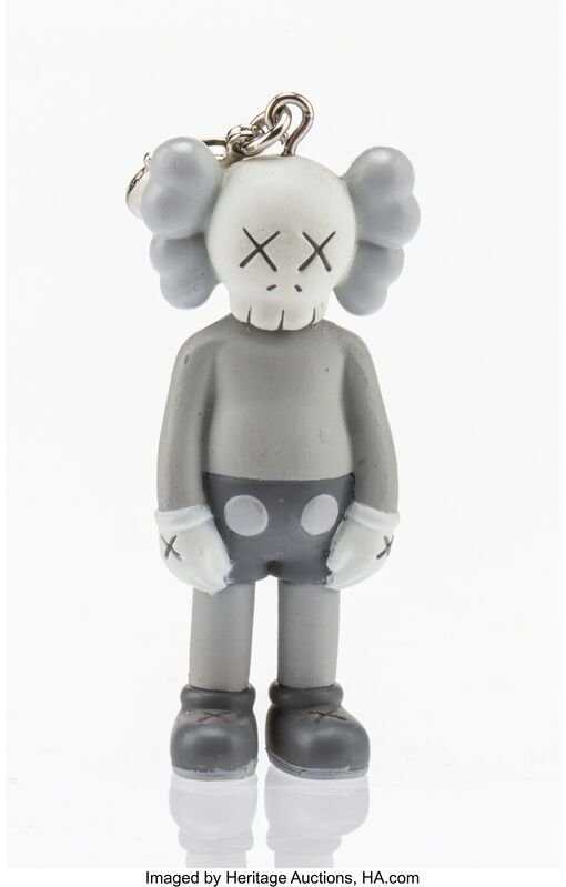 KAWS, 'Companion (Grey), keychain', 2009, Other, Painted cast vinyl, Heritage Auctions