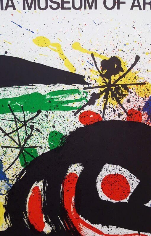 Joan Miró, 'Graphics: Philadelphia Museum of Art', 1966, Print, Lithograph, Exhibition Poster, Graves International Art