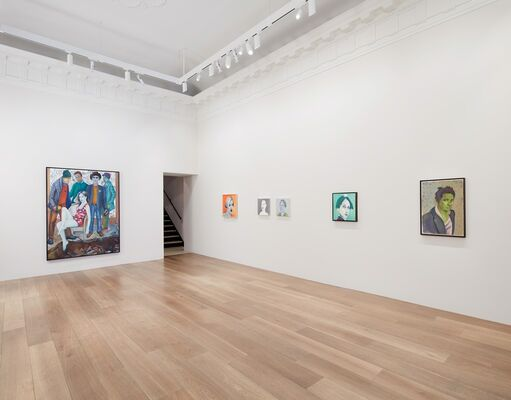 Martial Raysse: VISAGES, installation view