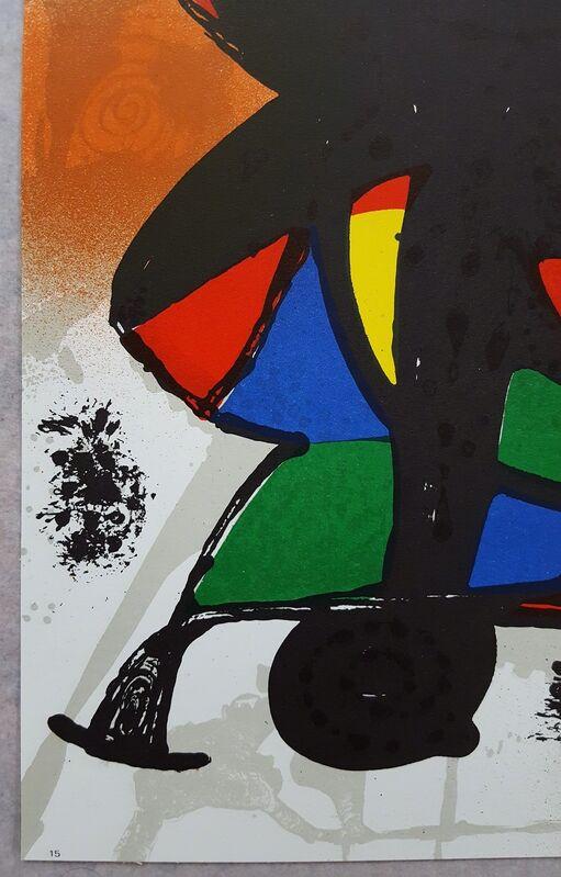 Joan Miró, 'Untitled (Figure 1115)', 1977, Print, Lithograph, Graves International Art