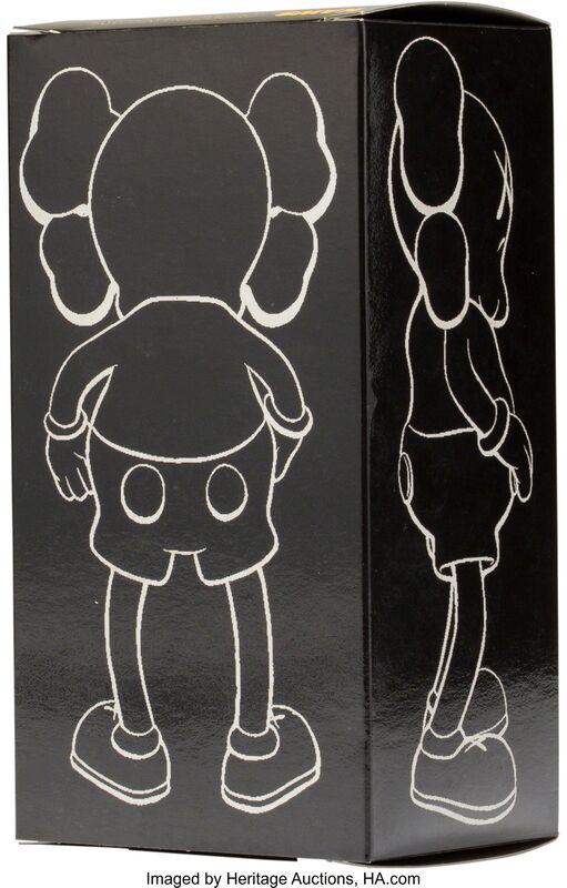 KAWS, 'Companion (Brown)', 1999, Sculpture, Painted cast vinyl, Heritage Auctions