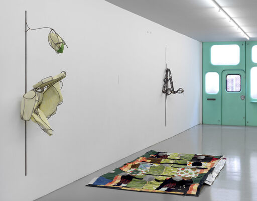 Em Rooney - You, too, know that you live, installation view