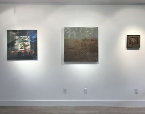 Past Perfect// Future Tense: mixed media works by Dorothy Simpson Krause, installation view