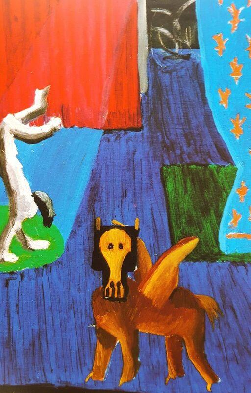 David Hockney, 'Set for Parade', 1980, Print, Offset-Lithograph, Exhibition Poster, Graves International Art