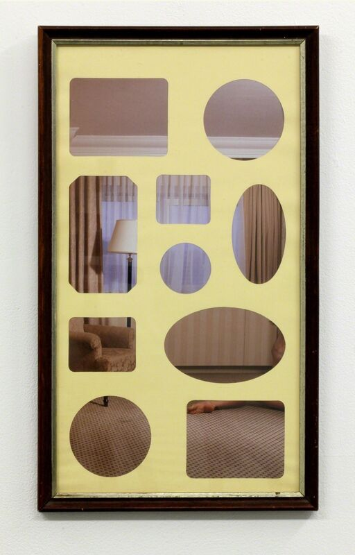 David Raymond Conroy, 'The Contortionist', 2012, Photography, Book page, found frame and mount mat, Seventeen